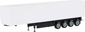 Herpa canvas cover semitrailer 4 axle unprinted (075992-002)