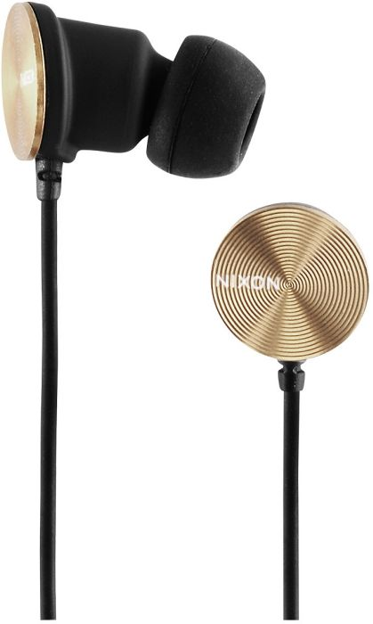 Nixon Wire 3-button-Mic gold/black