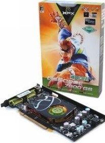 XFX GeForce 7900 GS 450M, 256MB DDR3 (PV-T71P-UDF3)