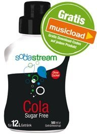 SodaStream Zero Cola 500ml syrup
