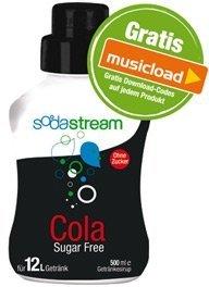 SodaStream Zero Cola, 500ml syrup
