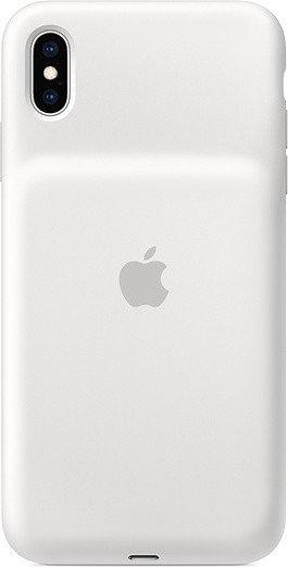 Apple Smart Battery Case für iPhone XS Max weiß (MRXR2ZM/A)