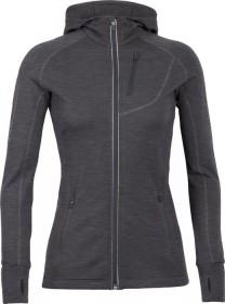 Icebreaker Quantum Long sleeve Hood Jacket gritstone heather (ladies)