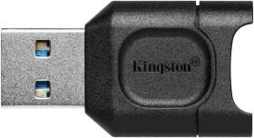Kingston MobileLite Plus microSD Single-Slot-Cardreader, USB-A 3.0 [Stecker] (MLPM)