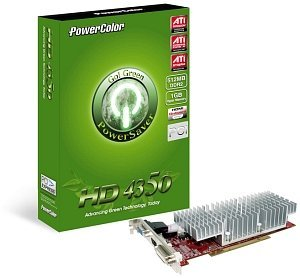 PowerColor Radeon HD 4350, 512MB DDR2, VGA, DVI, HDMI (AP4350 512MD2-H/R71PL-NE3H)
