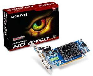 Gigabyte Radeon HD 6450 OC, 1GB DDR3, VGA, DVI, HDMI (GV-R645OC-1GI)