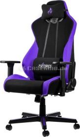 Nitro Concepts S300 Nebula Purple Bürostuhl, schwarz/violett (NC-S300-BP)