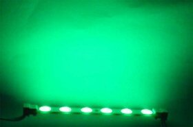 LED Lights/groin green, 6 Leds