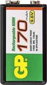 GP Batteries Rechargeable 9V-Block NiMH 170mAh (GP 301.17R9H-C1)