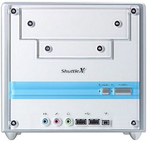 Shuttle XPC SS56G Mini-Barebone aluminium (Socket 478/200/PC3200 DDR)