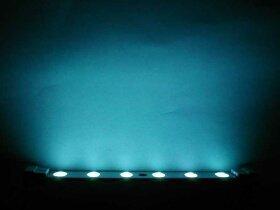 LED Lights/listwa niebieski, 6 Leds