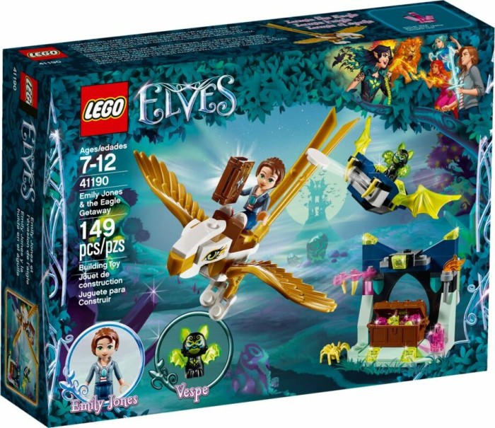 LEGO Elves - Emily Jones & the Eagle Getaway (41190)