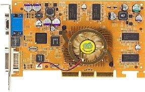 Chaintech A-GX20, GeForce4 Ti4200 8X, 128MB DDR, DVI, VIVO, TV-out, AGP