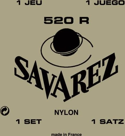 Savarez Traditional Red normal Tension (520R)