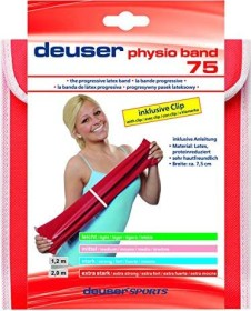 Deuser Band Physio Band 75 2m rot extra stark (111134)