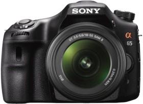Sony Alpha 65 schwarz mit Objektiv AF 18-55mm 3.5-5.6 DT SAM II (SLT-A65VL)