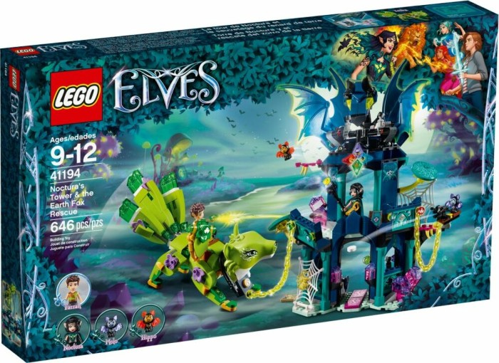 LEGO Elves - Noctura's Tower & the Earth Fox Rescue (41194)