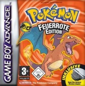 Pokemon - Feuerrote Edition & Wireless Adapter (GBA)