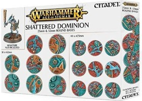 Games Workshop Warhammer Age of Sigmar - Shattered Dominion - Rundbases (25mm & 32mm) (99120299033)