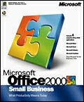 Microsoft: Office 2000 Small Business Edition (SBE) (englisch) (PC) (588-00668)
