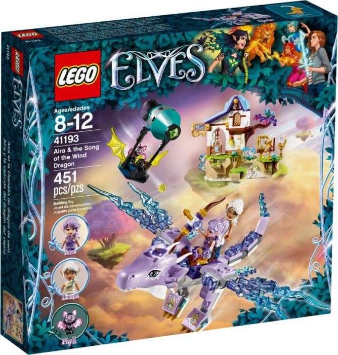LEGO Elves - Aira & the Song of the Wind Dragon (41193)