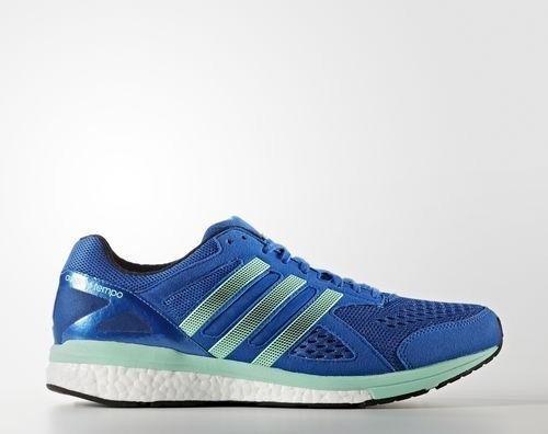 online store 60aa5 67887 adidas adizero Tempo 8 bluenight navyeasy green (męskie) (BB4357)
