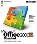 Microsoft: Office 2000 Standard - aktualizacja (angielski) (PC) (021-02661)