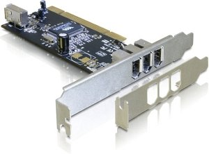DeLOCK 89179, 4x FireWire, low profile, PCI
