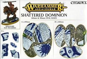 Games Workshop Warhammer Age of Sigmar - Shattered Dominion - Rundbases (60mm & 90mm) (99120299035)