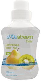 SodaStream clear Kiwi pear, 500ml syrup