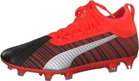 Puma One 5.2 FG/AG black/nrgy red/aged silver (Herren) (105618-01)