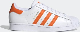 adidas Superstar cloud white/blue/gold metallic (FX5526)