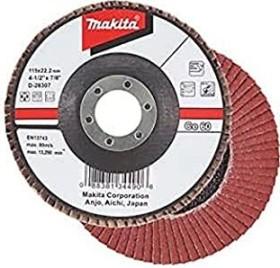 Makita Schleifscheibe Keramik-Aluminium-Oxid flach 180mm, 1er-Pack (D-28531)