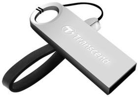 Transcend JetFlash 520 silber 64GB, USB-A 2.0 (TS64GJF520S)