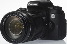 Canon EOS 760D schwarz mit Objektiv Fremdhersteller