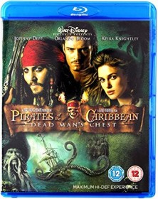 Pirates of the Caribbean 2 - Dead Man's Chest (Blu-ray) (UK)