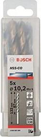 Bosch HSS-Co Spiralbohrer 10.2x87x133mm, 5er-Pack (2608585899)