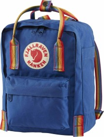 Fjällräven Kanken Rainbow Mini deep blue/rainbow pattern (F23621-527-907)