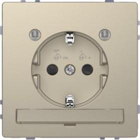Merten System Design SCHUKO-Steckdose, sahara (MEG2304-6033)