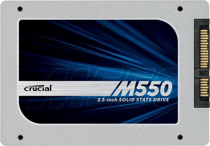 Crucial M550 256GB, SATA (CT256M550SSD1)