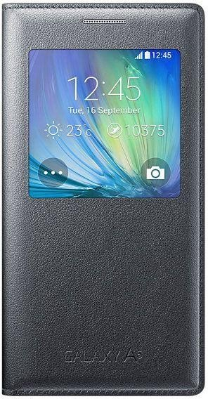 reputable site b4182 50333 Samsung EF-CA500BC S-View Cover for Galaxy A5 dark grey
