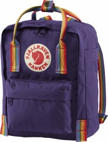 Fjällräven Kanken Rainbow Mini purple/rainbow pattern (F23621-580-907)