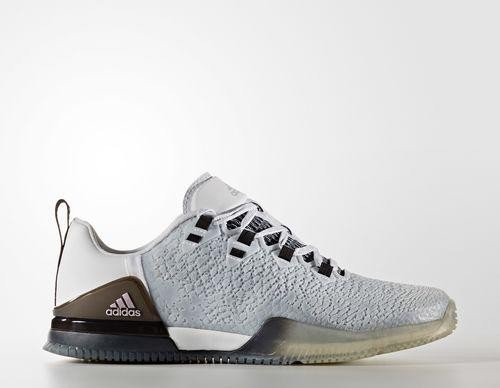 the best attitude c7d67 79f40 adidas CrazyPower whitevapour grey metallicclear grey (Damen) (BB1557)