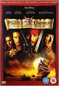 Pirates of the Caribbean - The Curse of the Black Pearl (UK)