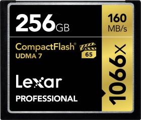 Lexar R160 CompactFlash Card [CF] Professional UDMA 1066x 256GB (LCF256CRBEU1066)