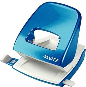 Leitz New NeXXt WOW Bürolocher Metall Blister, blau (50082036)