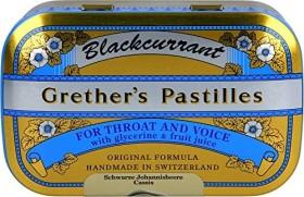 Grether's pastilles Blackcurrant, 110g