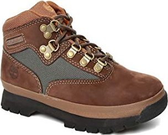 Timberland Euro Hiker_Euro Hiker_Euro Hiker, Unisex-Kinder Kurzschaft Stiefel, Braun (Brown Smooth), 31 EU