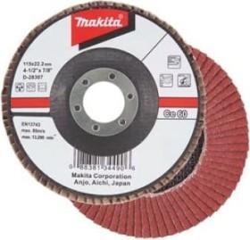 Makita Schleifscheibe Keramik-Aluminium-Oxid flach 115mm, 1er-Pack (D-28488)