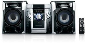 Philips FWM387 black/silver